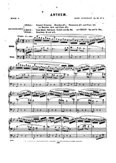 Pièces dans different styles for Organ: Book 9, Op.33 by Alexandre Guilmant