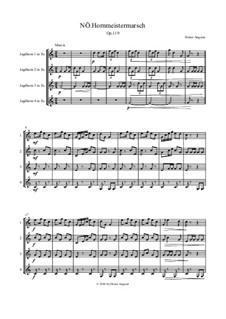 Nö. Hornmeistermarsch, Op.119: Nö. Hornmeistermarsch by Dieter Angerer