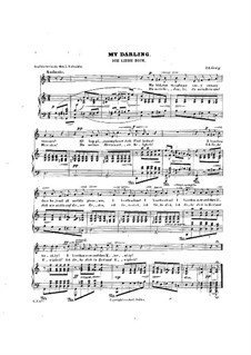 Hjertets Melodier (Melodies of the Heart), Op.5: No.3 Jeg elsker Dig (I Love Thee) in C Major by Edvard Grieg