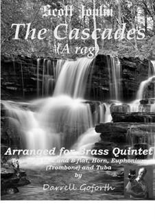 The Cascades: Para quinteto de metais by Scott Joplin
