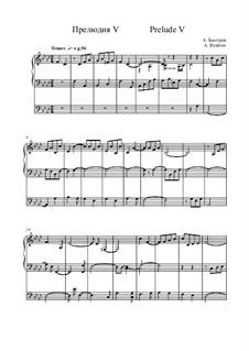 Prelude V: Prelude V by Alexander Bystrov