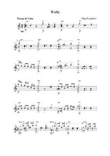 Waltz, Op.2: valsa by Oleg Kopenkov