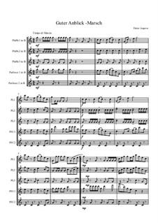 Guter Anblick Marsch, Op.121: Guter Anblick Marsch by Dieter Angerer