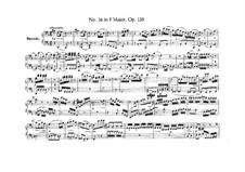 String Quartet No.16 in F Major, Op.135: versão para piano de quatro mãos by Ludwig van Beethoven