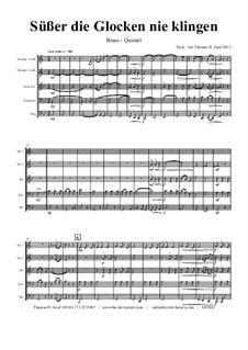 Süsser die Glocken nie klingen: Para quinteto de metais by folklore