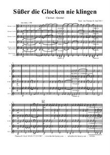 Süsser die Glocken nie klingen: For clarinet quintet by folklore