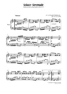 Solace: Para Piano, Op.16 No.5 by Scott Joplin