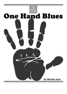 One Hand Blues (Beginning Piano Solo): One Hand Blues (Beginning Piano Solo) by MEA Music