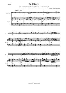 Bell Dance: para fagote e piano by David W Solomons