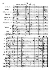 Symphony No.2, Op.36: movimento III by Ludwig van Beethoven