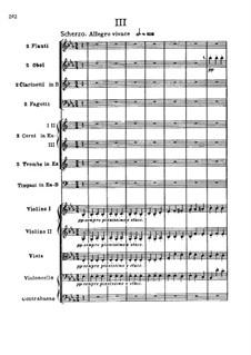 Symphony No.3 'Eroica', Op.55: movimento III by Ludwig van Beethoven
