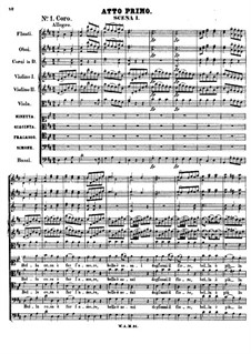 The Pretended Simpleton, K.51: ato I by Wolfgang Amadeus Mozart