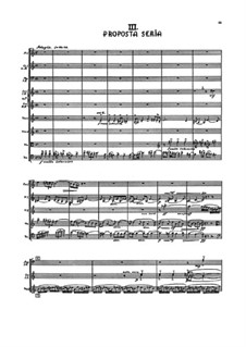 Symphony No.6 'Simple', FS 116: movimento III by Carl Nielsen
