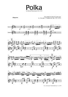 Полька: Полька, Op.2 No.3 by Eduardo Mezzacapo