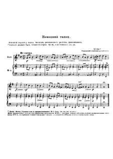 German Dance in C Major: German Dance in C Major by Johann Hermann Schein