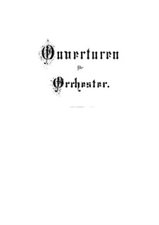 Orchestral Suite No.1 in C Major, BWV 1066: Partitura completa by Johann Sebastian Bach