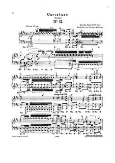 Orchestral Suite No.2 in B Minor, BWV 1067: versão para piano by Johann Sebastian Bach