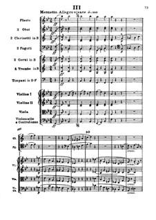 Symphony No.4, Op.60: movimento III by Ludwig van Beethoven