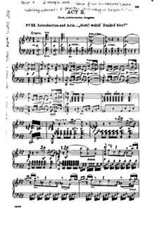 Fragments: Partitura piano-vocal by Ludwig van Beethoven