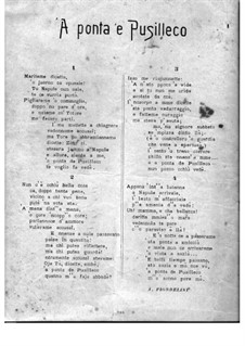 'A ponta 'e Pusilleco: 'A ponta 'e Pusilleco by Giuseppe de Gregorio