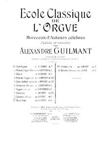 Sonate d'Intavolatura per Organo e Cimbalo: No.11 Canzone in G Minor by Domenico Zipoli