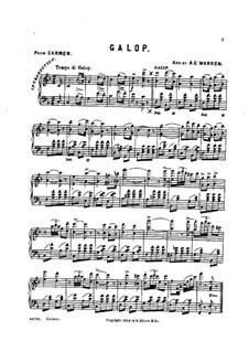 Galop: Galop by Georges Bizet