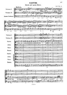 Merk auf mein Herz: Merk auf mein Herz by Johann Rudolf Ahle