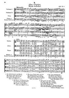 Alles vergehet, Musik bestehet: Alles vergehet, Musik bestehet by Johann Rudolf Ahle