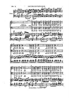 Complete Opera: ato I, gravação piano-vocais by Daniel Auber