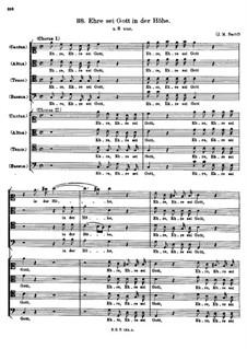 Ehre sei Gott in der Höhe: Ehre sei Gott in der Höhe by Johann Michael Bach