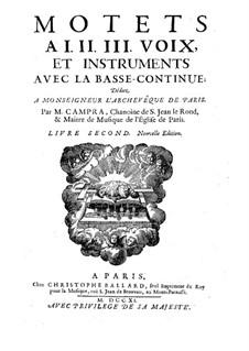Motets : livro II by André Campra