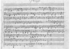 La Calisto: prólogo by Pietro Francesco Cavalli