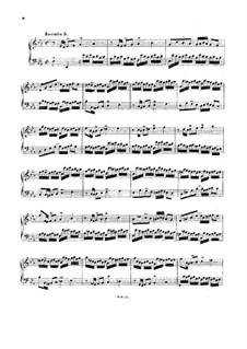 No.5 in E Flat Major, BWV 776: para arpa (ou piano) by Johann Sebastian Bach