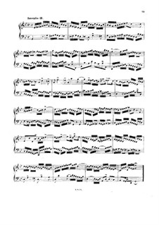 No.11 in G Minor, BWV 782: Para Piano by Johann Sebastian Bach