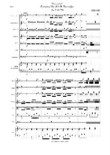 La Cetra (The Lyre). Twelve Violin Concertos, Op.9: No.9 Concerto in B Flat Major – score, RV 530 by Antonio Vivaldi