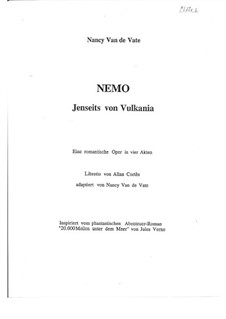 Nemo: Jenseits von Vulkania: Act I – parts by Nancy Van de Vate