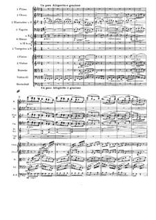 Symphony No.1 in C Minor, Op.68: movimento III by Johannes Brahms