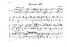 Complete set: versão para piano de quatro mãos by Johannes Brahms