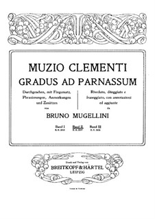 Mugellini Edition: livro II by Muzio Clementi