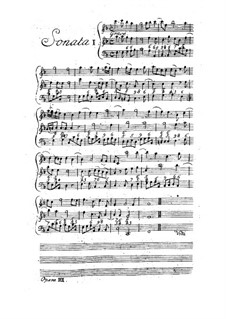 Twelve Trio Sonatas da chiesa for Two Violins and Basso Continuo, Op.3: set completo by Arcangelo Corelli