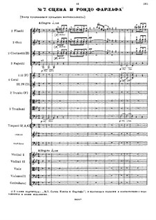 Fragments: Act II. No.7-10 by Mikhail Glinka