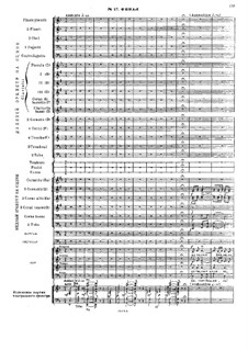 Fragments: Act V. Finale for wind orchestra and piano by Mikhail Glinka