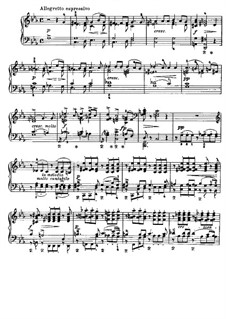 Two Elegiac Melodies, Op.34: Para Piano by Edvard Grieg