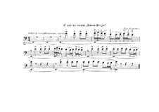 Excerpt from Double Bass: para um único musico (Editado por H. Bulow) by Alexander Borodin