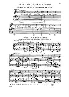 Fragments: No.31-32 by Georg Friedrich Händel