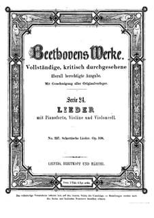 Twenty-Five Scottish Songs, Op.108: set completo by Ludwig van Beethoven