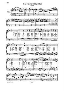 An einen Säugling, WoO 108: An einen Säugling by Ludwig van Beethoven