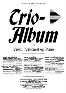 Mignonnette for Piano Trio, Op.44 No.1: Mignonnette for Piano Trio by Franz Behr