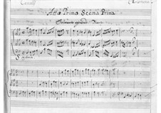 L'Erismena: ato I by Pietro Francesco Cavalli