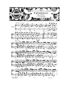 Fandango, Op.49: Fandango by Peter Cavallo